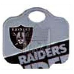 Decorative Key Blank, NFL Team Key, Kwikset/Titan, Raiders Logo, KW1 Keyway, 46 Price Group