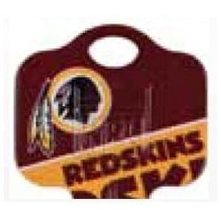 Decorative Key Blank, NFL Team Key, Kwikset/Titan, Redskins Logo, KW1 Keyway, 46 Price Group