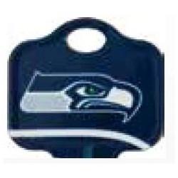 Decorative Key Blank, NFL Team Key, Kwikset/Titan, Seahawks Logo, KW1 Keyway, 46 Price Group