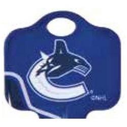 Decorative Key Blank, NHL Team Key, Kwikset/Titan, Canadiens Logo, KW1 Keyway, 46 Price Group
