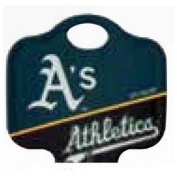 Decorative Key Blank, MLB Team Key, Schlage, Athletics Logo, SC1 Keyway, 46 Price Group