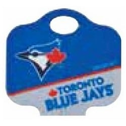 Decorative Key Blank, MLB Team Key, Schlage, Blue Jays Logo, SC1 Keyway, 46 Price Group