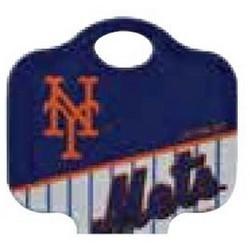 Decorative Key Blank, MLB Team Key, Schlage, Mets Logo, SC1 Keyway, 46 Price Group
