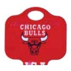 Decorative Key Blank, NBA Team Key, Schlage, Bulls Logo, SC1 Keyway, 46 Price Group