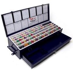 """Cylinder Lock Rekeying Pin Kit, Super Wedge, Universal, 0.005"""" Increment, 21"""" x 7-3/4"""" x 4-1/2"""", Metal, With Drawer"""