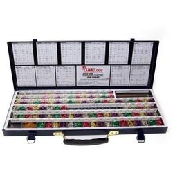 """Cylinder Lock Rekeying Pin Kit, Universal, Professional, 0.005"""" Increment, 21-5/8"""" x 7-7/8"""" x 1-5/8"""", Metal"""
