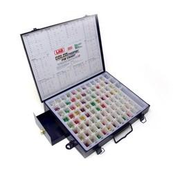 """Cylinder Lock Rekeying Pin Kit, Universal, 0.005"""" Increment, 13-1/4"""" x 10-1/2"""", With Drawer"""