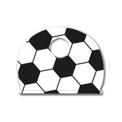 "Key Identifier Cap, Soccer, 1"" Length x 3/4"" Width, Vinyl, For Sports Enthusiast, 50 each per Pack"