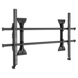 """TV Mount, XL, Fusion Micro-Adjustable, Fixed, Wall Mount, Universal, Landscape, 250 Lb Load, 42.75"""" Width x 2.25"""" Depth x 26.25"""" Height, Black"""
