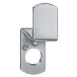 """Lock Cam, Pin Tumbler, Double Formed, Right Hand Door, 1-5/8"""" Length x 0.625"""" Width x 0.095"""" Thickness, 7/16"""" Offset, Zinc Plated"""