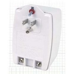 Power Supply Transformer, Plug-In, 120 Volt AC Input, 24 Volt AC 2 Ampere 50 VA Output, Screw Terminal Connection