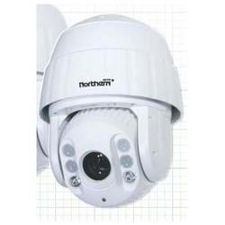PTZ Camera Junction Box, Heavy Duty, 209 MM Width x 96 MM Depth x 310 MM Height, Aluminum Alloy, White, For IPTVIWMT