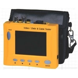 "Video Test Monitor, NTSC, 480 x 234 Resolution, 12 Volt DC, 3.5"" Diagonal Panel, 83 MM Width x 3.2 MM Depth x 60.5 MM Height Panel, With PTZ Controller/Cable Tester"