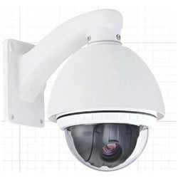 PTZ Camera, NTSC, 12x Optical Zoom, 16x Digital Zoom, 128x Sense-Up, Indoor/Outdoor, Day/Night, Wall/Ceiling Mount, 12 Volt DC, 1.1 Ampere, IP66