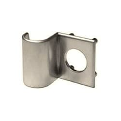 """Cabinet Lock Through-Bolt Pull, Reinforcing, 1/8"""" Thickness, Satin Chrome Plated, For 7/8"""" Diameter 100/200/500/600/L72V Series Cabinet Lock"""