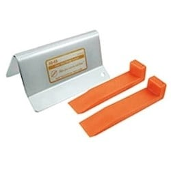 Car Opening Wedge System, 3-Piece, Clear View, With (2) AO64 Mini Duo Orange Wedge, Color Instruction