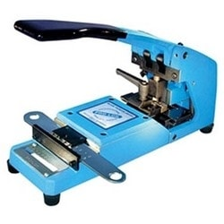 Punch Key Machine, Blue, For Interchangeable Core A2 System