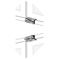 Window Lock, Lever, Aluminum, For Interior and Exterior Window