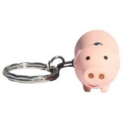 Flashlight Pig Key Chain, LED, 1 per Card