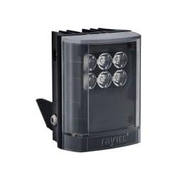 "Infrared LED Illuminator, 1-Panel, VARIO2, 12 to 24 Volt AC/DC, 10 Watt, 6-LED, 850 NM Wavelength, 10 to 120 Degree, 3"" Length x 4"" Width x 2.5"" Depth, Black"