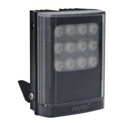 "Infrared LED Illuminator, 1-Panel, VARIO2, 12 to 24 Volt AC/DC, 13 Watt, 9-LED, 850 NM Wavelength, 10 to 120 Degree, 4"" Length x 5"" Width x 2.5"" Depth, Black"