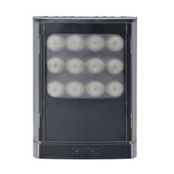 "Infrared LED Illuminator, 1-Panel, VARIO2, 12 to 24 Volt AC/DC, 25 Watt, 12-LED, 850 NM Wavelength, 10 to 120 Degree, 4"" Length x 5"" Width x 2.5"" Depth, Black"