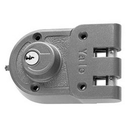 Auxiliary Deadlock, Jimmyproof, 5-Pin, PARA Keyed Random, Cylinder x Cylinder, For Rim and Cabinet