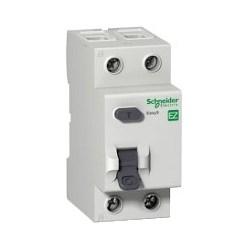 Residual Current Circuit Breaker, B Curve, Instantaneous, DIN-Rail/Clip-On Mount, Tunnel Terminal, 230 Volt AC, 50/60 Hertz, 2-Pole, 63 Ampere, 30 Milliampere Sensitivity
