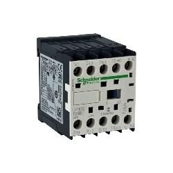 Motor Contactor, Solder Pin Terminal, 2NO-2NC, 220 Volt DC Coil, 4-Pole, 20 Amp, 3 Watt, 45 MM Width x 57 MM Depth x 58 MM Height