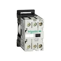 Motor Contactor, 2NO, 24 Volt DC Coil, 12 Amp, 2.2 Watt, 2-Pole, 27 MM Width x 55.5 MM Depth x 56 MM Height