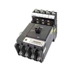 Moulded Case Circuit Breaker, 415 Volt, 3-Phase, 4-Pole, 400 Ampere, 36 Kiloampere Breaking Capacity, For 35 MM 6-Module Panelboard
