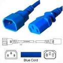 Power Cord, C13-C14, 3.0 MT Blue 250V, 3 x 1.0mm conductors 10AMP
