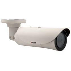 Network Camera, Bullet, 4.3x Optical Zoom, WDR, Day/Night, Outdoor, H.264/MJPEG, 10 Megapixel, 1920 x 1080 Resolution, F1.4 to 4.0 Auto Focus/P Iris 3.1 to 13.3 MM Lens, IP67, PoE