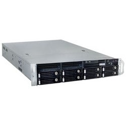"""Network Video Recorder, Standalone, 200-Channel, 8-Bay, Rackmount, H.265/H.264/MPEG-4/MJPEG Compression, 19"""" Width x 22.05"""" Depth x 3.46"""" Height, With Hardware RAID"""