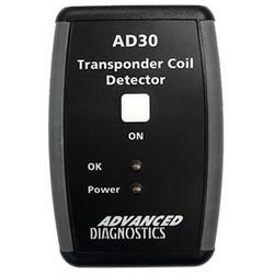Transponder Coil Detector, PP3/9 Volt Battery, With LED, For Vehicle