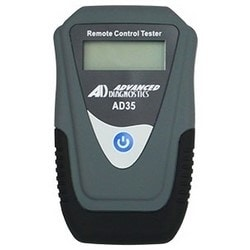 Car Remote Control Tester, (3) AA Battery, 25 Milliampere, 100 to 1000 Megahertz, For Infra Red/Radio Frequency Remote Control