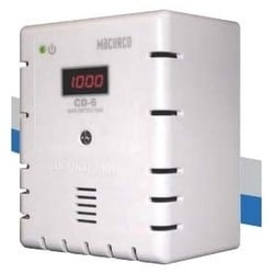 Gas Detector Controller Transducer, 12 to 24 Volt AC, 12 to 32 Volt DC, 4 to 20 Milliampere, 3 Watt, Carbon Dioxide, White Cover