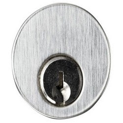 """Mortise Cylinder, Keyed Different, 1-1/8"""" Cylinder, 1"""" Cam, With (2) Key"""