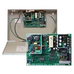 Access Control Power Supply Board, Wall Mount, 12/24 Volt DC Input, 8 or 4 Ampere Output