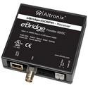 "Ethernet Receiver, 1-Port, PoE/PoE+/Hi-PoE, 100 Mbps, Auto Crossover, RJ45 Connector, 4-Pair Cat 5 Cable, 3.5"" Width x 1"" Depth x 4.38"" Height Enclosure, Plastic Case"