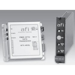 "Fiber Module Transmitter, Multimode, 1-Channel, 1-Fiber, SC Connector, 1310 Nanometer, 12 Volt DC, 4-1/4"" Length x 4-1/4"" Width x 1-1/8"" Height"