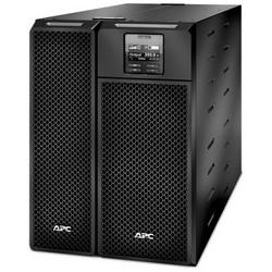 Smart UPS, Rack Mount, 208 Volt AC Input, 40 to 70 Hertz, 6 Kilowatt/6 KVA, 480 Joule, 3-Wire Input Connection, NEMA 5-20R/L14-30R/L6-30R/L6-20R/3-Wire Output Connection, Black