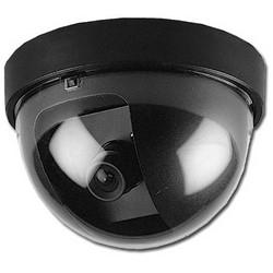 CCTV Camera, Mini Dome, NTSC, 700 TVL Resolution, 12 Volt DC, 95 Milliampere, 48 dB, F2.0 3.6 MM Auto Iris Fixed Lens, 87.5 MM Diameter x 56.5 MM Height