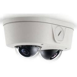 Network Camera, IP, Micro Dome, DNR, 7 FPS, Surface Mount, Day/Night, Indoor/Outdoor, Standard, 10 Megapixel, 2560 x 1920 Resolution, 8 MM Lens, 7.9 Watt, IP66, IK10, PoE