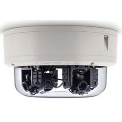 Réseau IP, Omni directionnelle, G3, appareil photo, 12 mégapixels, jour/nuit, intérieur/extérieur, 8192 x 1536 résolution, 2,8 à 6 MM Lens, 14 watts, PoE, IP66, IK10, avec l'installation à distance