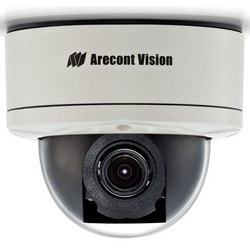 IP Camera, Dome, 5 Megapixel, 14 FPS, Day/Night, Indoor/Outdoor, H.264/MJPEG, 3 to 8 MM RF/RZ/P-Iris Lens, 24 Volt AC/12 to 48 Volt DC 11.9 Watt, IP66, IK10, PoE