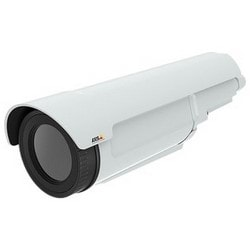Network Camera, Thermal, Outdoor, Pan/Tilt, H.264/MPEG-4/JPEG, 384 x 288 Resolution, F1.2 Focus 35 MM Lens, 20 to 24 Volt AC, 8 to 28 Volt DC, 512 MB RAM, Aluminum Case, White
