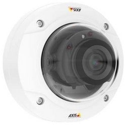 Network Camera, Day/Night, Fixed Dome, 3072 x 1728 Resolution, F1.7 Varifocal 3.5 to 10 MM Lens, 11.5 Watt, 1 GB RAM, Polycarbonate, White