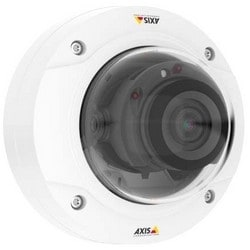Network Camera, Day/Night, PTZ Dome, H.264/JPEG, 3840 x 2160 Resolution, F1.7 Varifocal 3.5 to 10 MM Lens, 11.5 Watt, 1 GB RAM, Polycarbonate, White