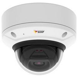 Network Camera, Fixed Dome, WDR, Vandalproof, Day/Night, Indoor, H.264/MJPEG/MPEG4, 25/30 FPS, 5 Megapixel Resolution, F1.5 Varifocal P-Iris 4.3 to 8.6 MM Lens, IP52/IK10, PoE